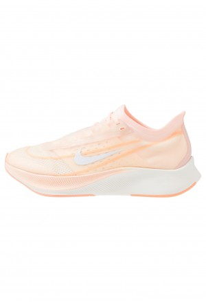 Nike ZOOM FLY 3 - Hardloopschoenen neutraal crimson tint/white/orange pulse/sailNIKE101810