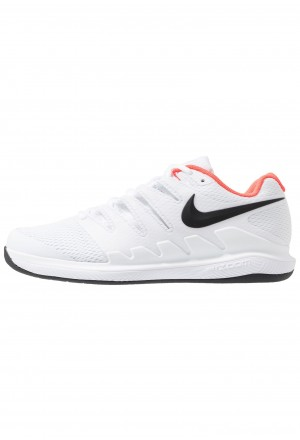 Nike AIR ZOOM VAPOR X CPT - Tennisschoenen voor tapijtbanen white/black/bright crimsonNIKE203124