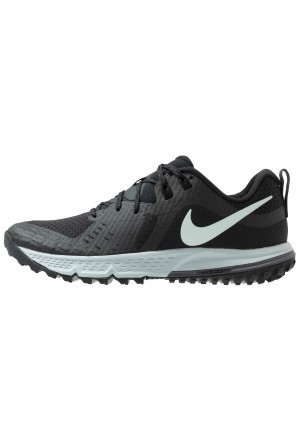 Nike AIR ZOOM WILDHORSE 5 - Trail hardloopschoenen black/barely grey/thunder grey/wolf greyNIKE101910