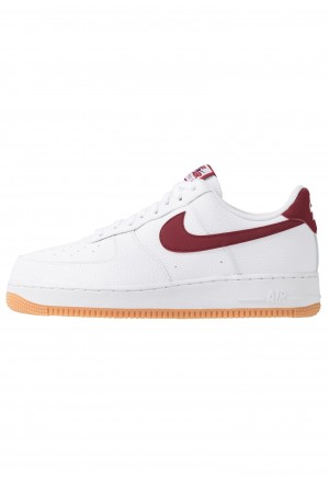 Nike AIR FORCE 1 '07 - Sneakers laag white/team red/blue void/medium brownNIKE202388