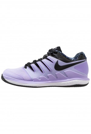 Nike AIR ZOOM VAPOR X CLAY - Tennisschoenen voor kleibanen purple agate/black/white/hyper crimsonNIKE101918