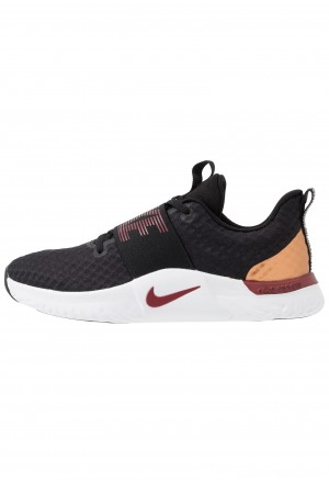 Nike RENEW IN-SEASON TR 9 - Sportschoenen black/team red/metallic copper/whiteNIKE101650