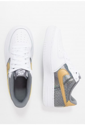 Nike AIR FORCE 1 LV8 HO19  - Sneakers laag white/metallic gold/anthracite/cool greyNIKE303336