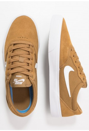 Nike SB CHRON  - Sneakers laag golden beige/whiteNIKE303384