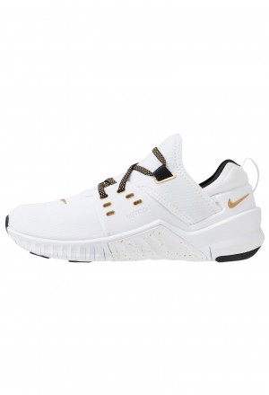 Nike FREE METCON 2 - Loopschoen neutraal white/metallic gold/blackNIKE101773