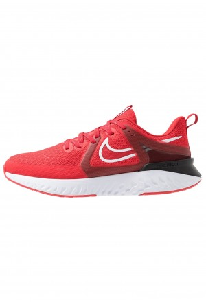 Nike LEGEND REACT  - Hardloopschoenen neutraal university red/white/blackNIKE202928