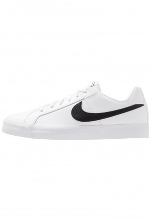 Nike COURT ROYALE - Sneakers laag white/blackNIKE202624
