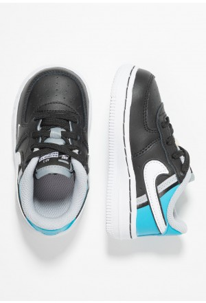 Nike FORCE 1 LV8  - Sneakers laag black/white/light current blue/wolf greyNIKE303426
