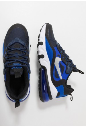 Nike AIR MAX 270 REACT - Sneakers laag midnight navy/metallic silver/racer blue/blackNIKE303155