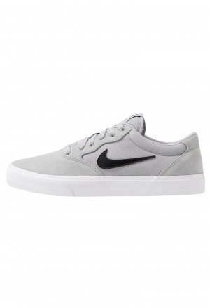 Nike SB CHRON SLR - Sneakers laag wolf grey/black/light brownNIKE202238