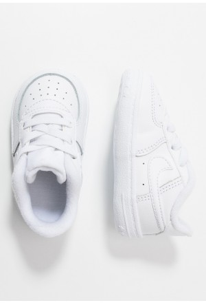 Nike FORCE 1 CRIB - Instappers whiteNIKE303524