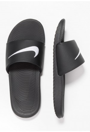 Nike KAWA SLIDE - Badslippers black/whiteNIKE303662