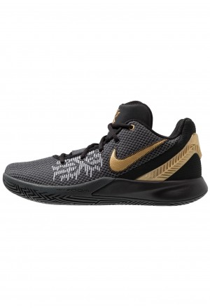 Nike KYRIE FLYTRAP II - Basketbalschoenen black/metallic gold/anthraciteNIKE202742
