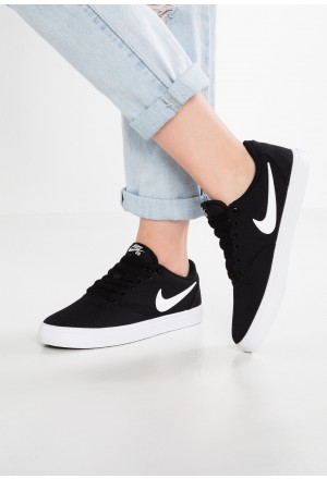 Nike SB CHECK SOLAR - Sneakers laag black/white/pure platinumNIKE101399