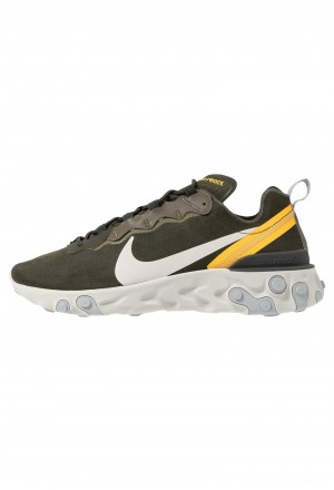 Nike REACT ELEMENT 55 - Sneakers laag sequoia/light bone/universe goldNIKE202331