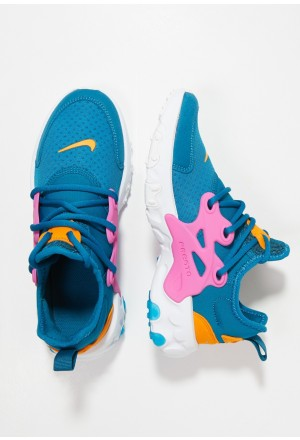 Nike REACT PRESTO - Sneakers laag green abyss/laser fuchsia/orange peel/whiteNIKE303315