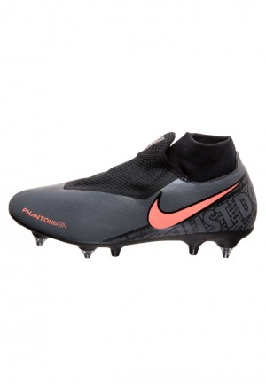 Nike Voetbalschoenen met kunststof noppen dark grey/bright mango/blackNIKE203108