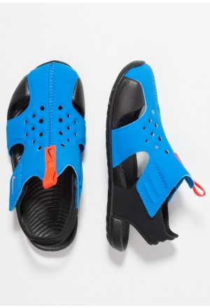 Nike SUNRAY PROTECT - Badslippers photo blue/bright crimson/blackNIKE303625