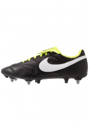 Nike MEN'S PREMIER II ANTI-CLOG TRACTION SOFT-GROUND - Voetbalschoenen met metalen noppen black/white/voltNIKE203107