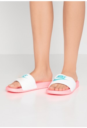 Nike BENASSI - Muiltjes sunset pulse/teal/whiteNIKE101603