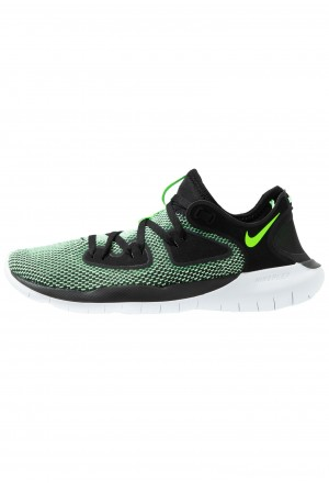 Nike FLEX 2019 RN - Loopschoen neutraal black/electric green/vapor green/whiteNIKE203141