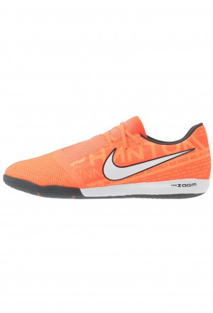 Nike ZOOM PHANTOM PRO IC - Zaalvoetbalschoenen bright mango/white/orange/anthracitNIKE202962