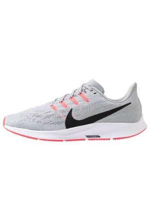 Nike AIR ZOOM PEGASUS  - Hardloopschoenen neutraal wolf grey/black/white/bright crimsonNIKE202727