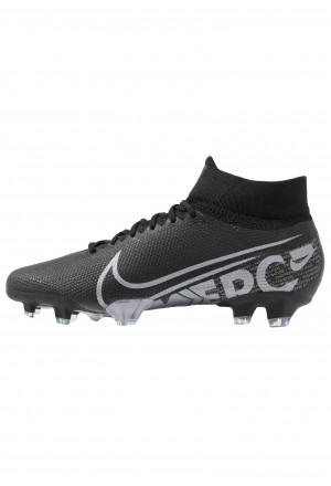 Nike 7 PRO FG - Voetbalschoenen met kunststof noppen black/metallic cool grey/cool greyNIKE203053