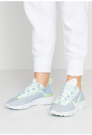 Nike REACT 55 - Sneakers laag white/frosted spruce/barely voltNIKE101351