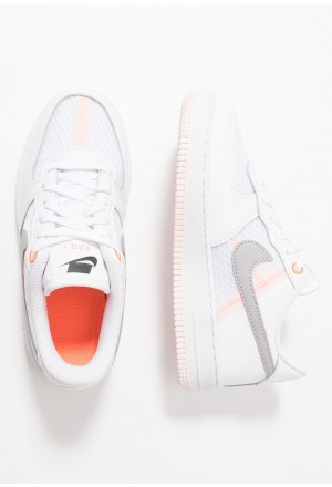 Nike FORCE 1 LV8 1 - Sneakers laag white/atmosphere grey/off noir/hyper crimson/light soft pinkNIKE303355