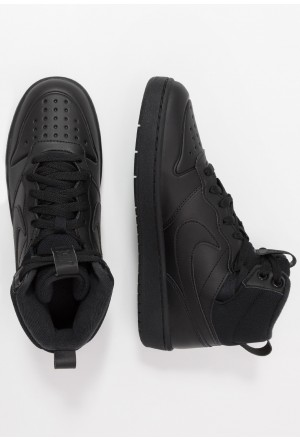 Nike COURT BOROUGH MID  - Sneakers hoog blackNIKE303266