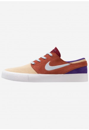 Nike SB ZOOM JANOSKI - Sneakers laag desert ore/light armory blue/dusty peach/team red/court purple/light brownNIKE202291