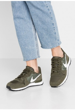 Nike INTERNATIONALIST - Sneakers laag cargo khaki/summit white/medium olive/blackNIKE101415