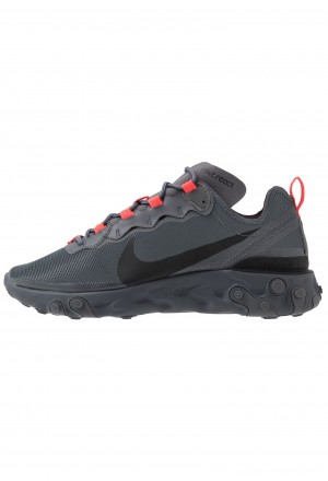 Nike REACT - Sneakers laag dark grey/black/metallic dark greyNIKE202525