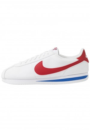 Nike CORTEZ BASIC - Sneakers laag white/varsity red/varsity royalNIKE202345