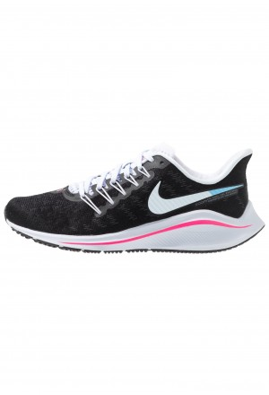 Nike AIR ZOOM VOMERO  - Hardloopschoenen neutraal black/hyper pink/football grey/pink beamNIKE101749