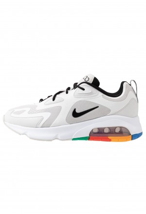 Nike AIR MAX 200 - Sneakers laag vast grey/black/white/pacific blue/habanero red/kumquatNIKE202259