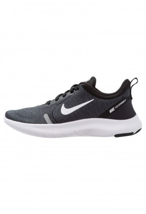 Nike FLEX EXPERIENCE RN 8 - Loopschoen neutraal black/white/cool grey/reflect silverNIKE101886