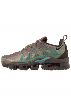 Nike AIR VAPORMAX PLUS - Sneakers laag medium olive/black/baroque brown/ tealNIKE202421