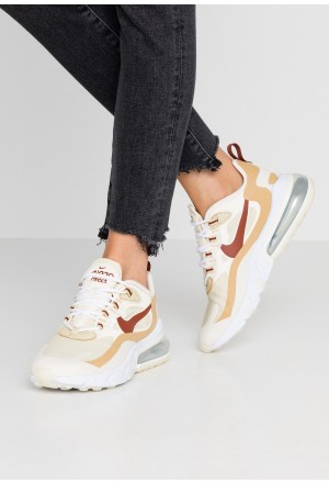 Nike AIR MAX 270 REACT - Sneakers laag team gold/cinnamon/club gold/pale ivoryNIKE101290