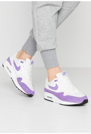 Nike AIR MAX 1 - Sneakers laag summit white/atomic violet/blackNIKE101562