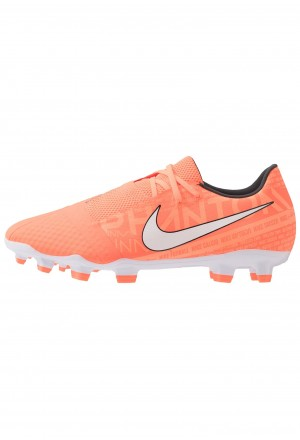 Nike PHANTOM ACADEMY - Voetbalschoenen met kunststof noppen bright mango/white/orange pulse/anthraciteNIKE202985