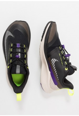 Nike FUTURE SPEED 2 SHIELD - Hardloopschoenen neutraal black/reflect silver/desert sand/voltage purpleNIKE303645
