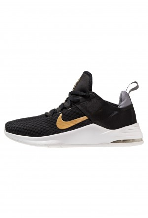 Nike AIR MAX BELLA TR 2 - Sportschoenen black/metallic gold/gunsmoke/vast greyNIKE101851