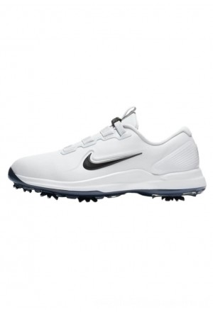 Nike Golf TIGER WOODS - Golfschoenen white/metallic cool grey/pure platinum/blackNIKE203085