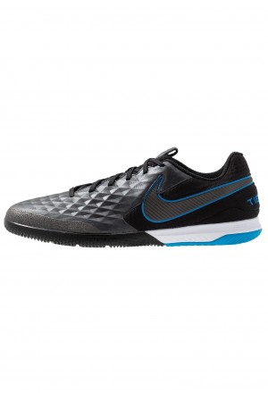 Nike REACT TIEMPO LEGEND 8 PRO IC - Zaalvoetbalschoenen black/blue heroNIKE203061