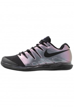 Nike AIR ZOOM VAPOR X CLAY - Tennisschoenen voor kleibanen multicolor/black/psychic purpleNIKE203186