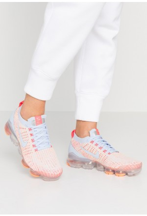 Nike AIR VAPORMAX FLYKNIT - Sneakers laag hydrogen blue/orange pulse/red orbit/barely volt/metallic silverNIKE101443