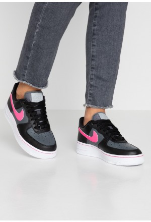 Nike AIR FORCE 1 - Sneakers laag black/pink blast/dark grey/whiteNIKE101360
