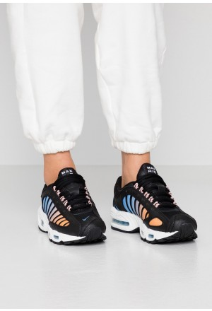 Nike AIR MAX TAILWIND - Sneakers laag black/white/coral stardust/light blueNIKE101389